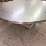 Custom Satin Nickel Table Frames