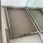 Custom Polished Nickel Tray Trim