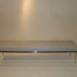 Custom Polished Stainless Steel Bench Base