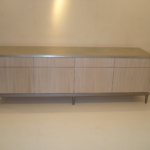 Custom Zinc Cabinet Top & Base