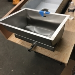 Custom Brushed Stainless Steel Sink