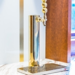 Custom Brass Ball Polished Lacquered Beer Tap Handle